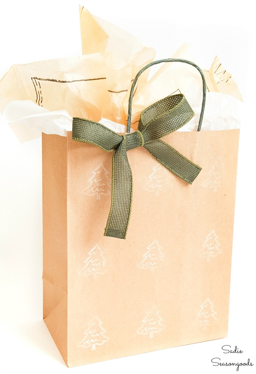 Tissue paper for eco friendly gift bags