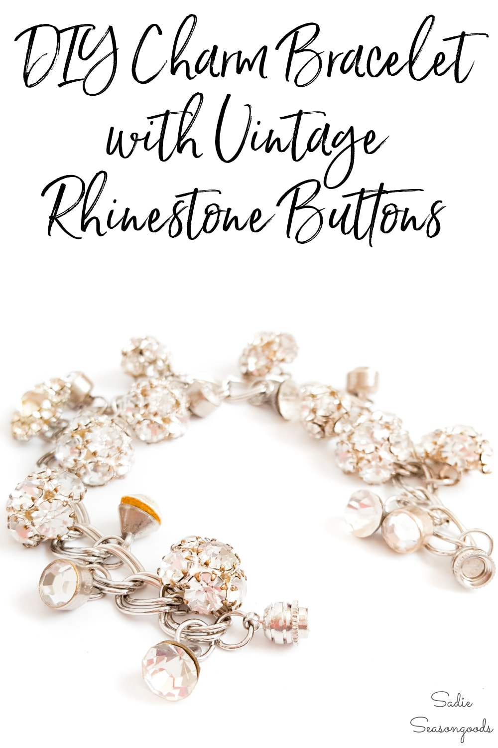 how to repurpose vintage buttons into jewelry