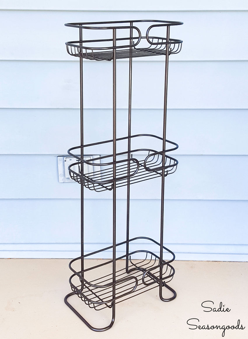 stand up shower caddy