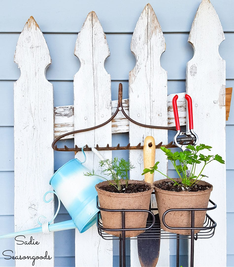 standing herb planter