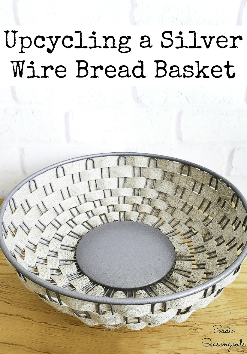 Industrial farmhouse decor and farmhouse wire basket