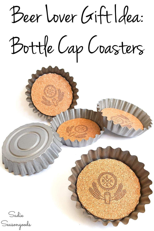 beer coasters that look like bottle caps