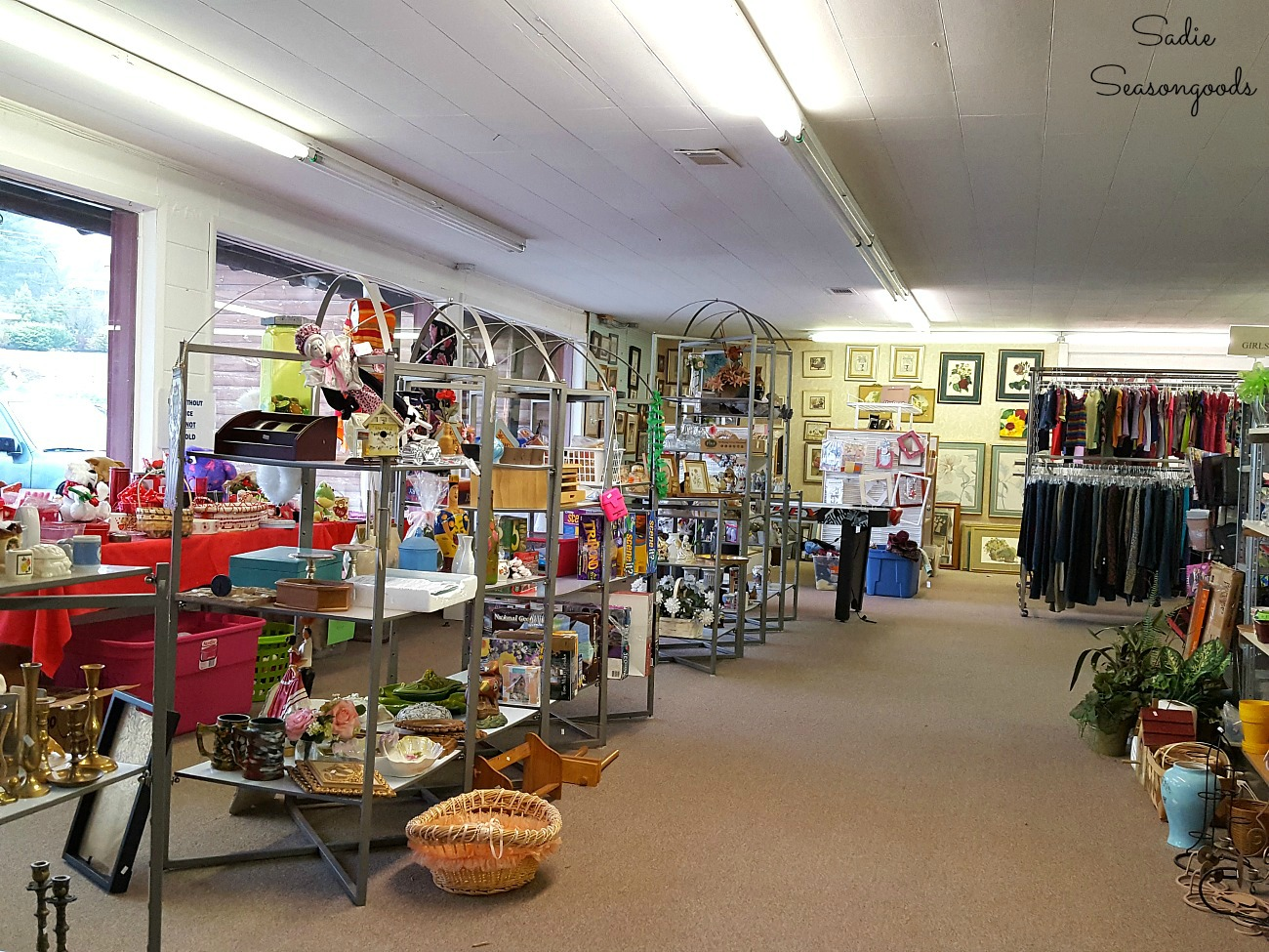 Storehouse Ministries Thrift Store is one of the thrift stores Blue Ridge GA for shopping in Blue Ridge by Sadie Seasongoods