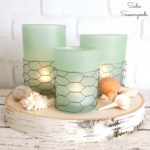 Beach Theme Decor with Coastal Farmhouse Candles