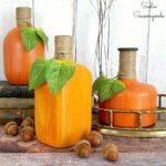 Decorative Gourds by Painting Glass Jars or Bottles