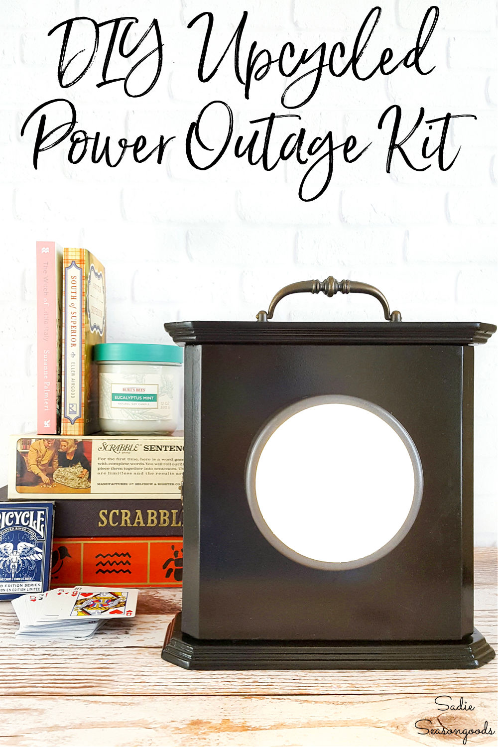 emergency lantern and power outage kit