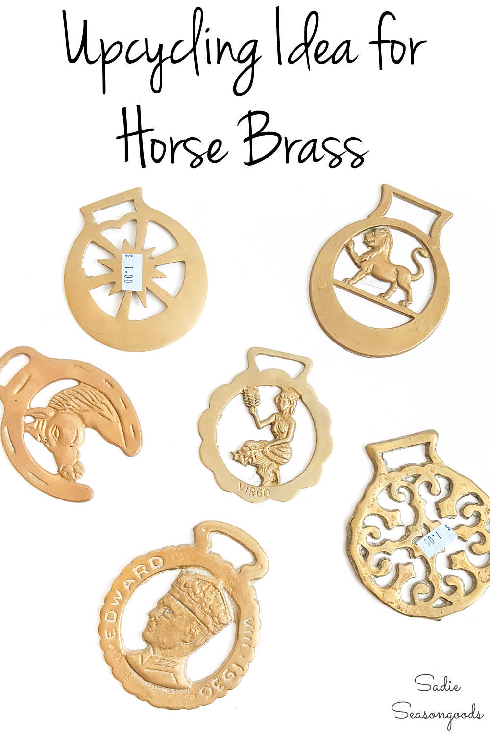 upcycling idea for horse brass or harness brass