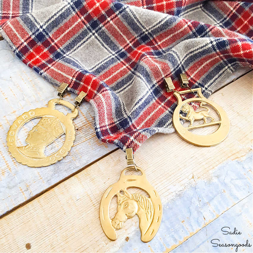 upcycling idea for horse brass