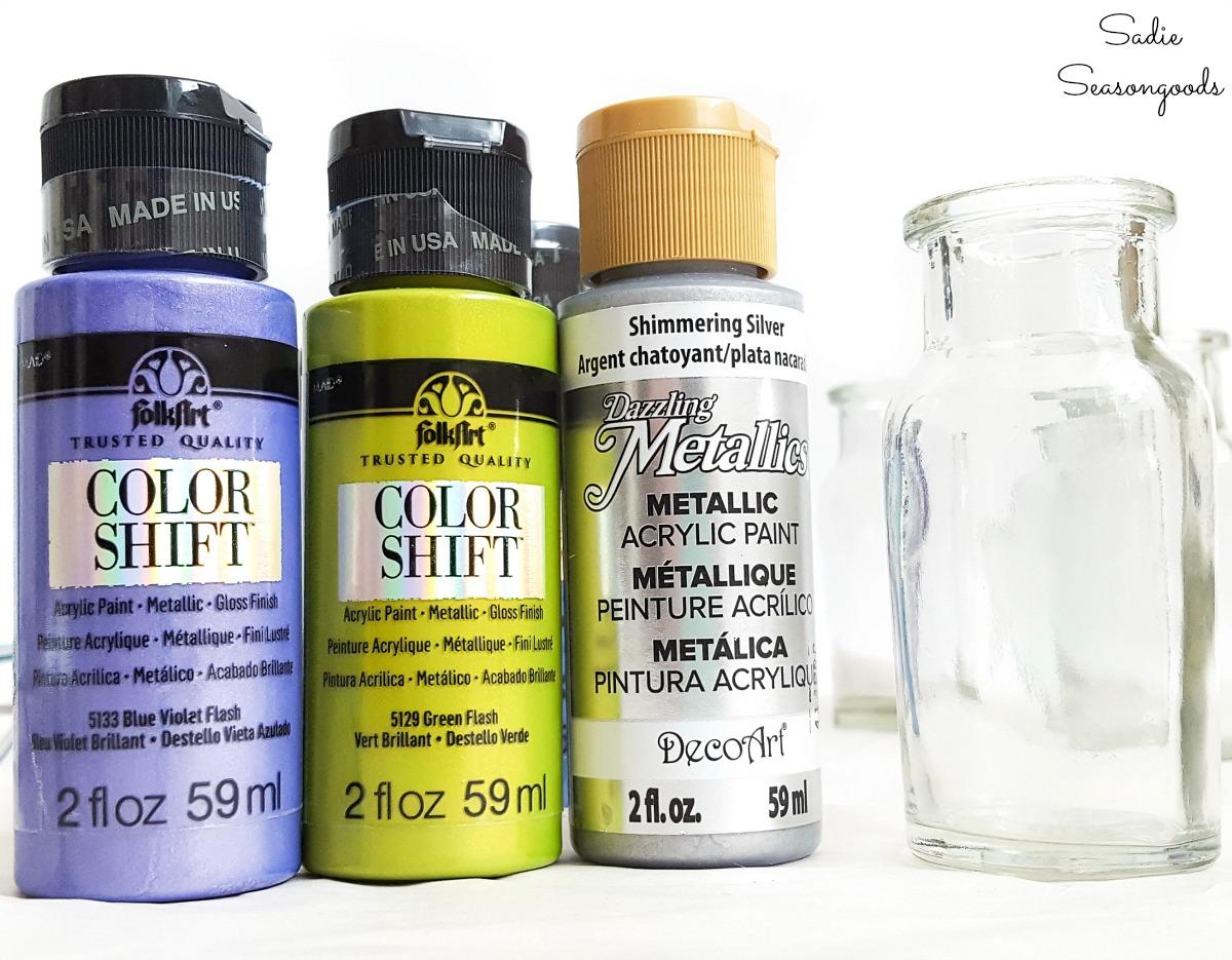 Color shift paint or color changing paint