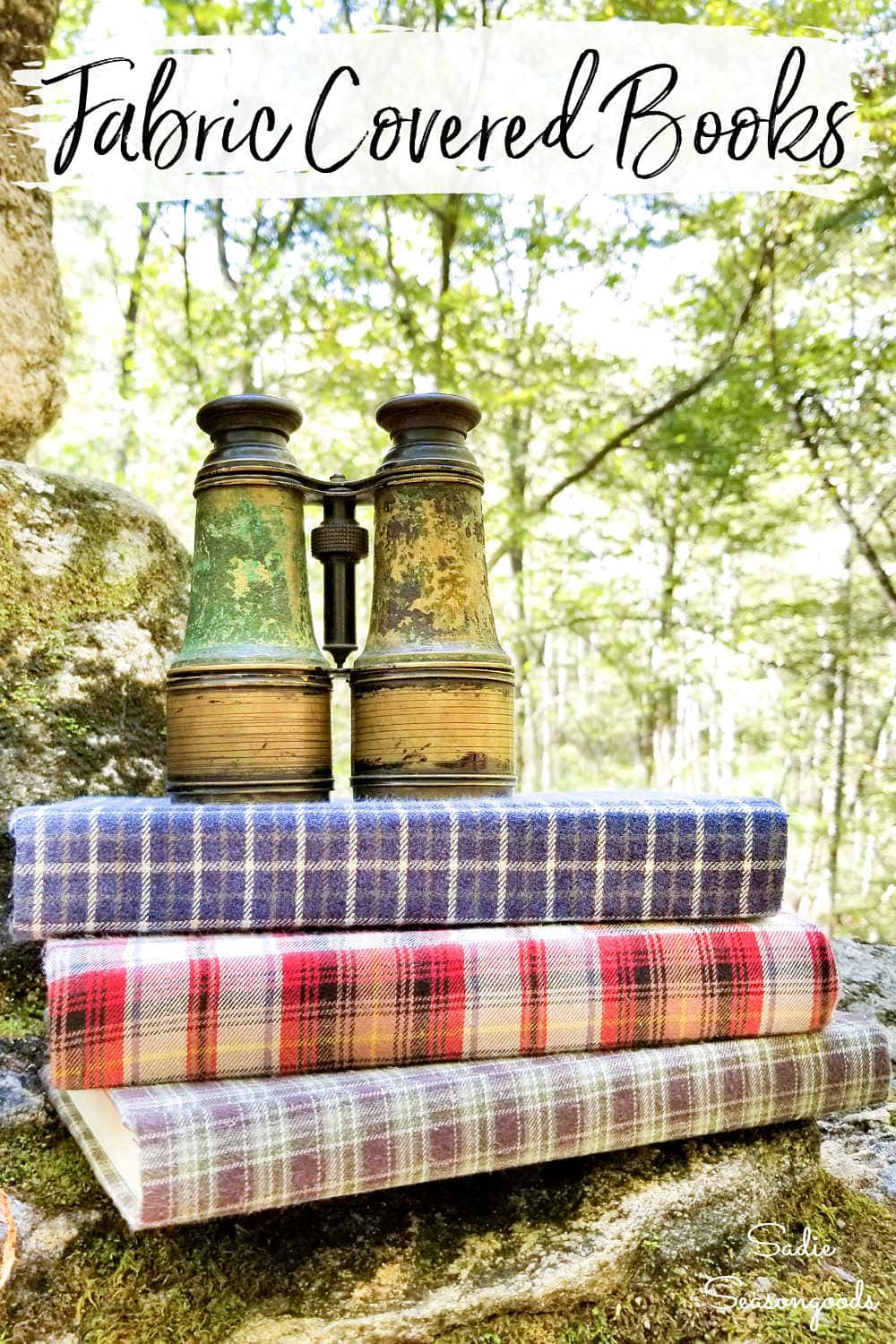 cozy home decor with used flannel shirts