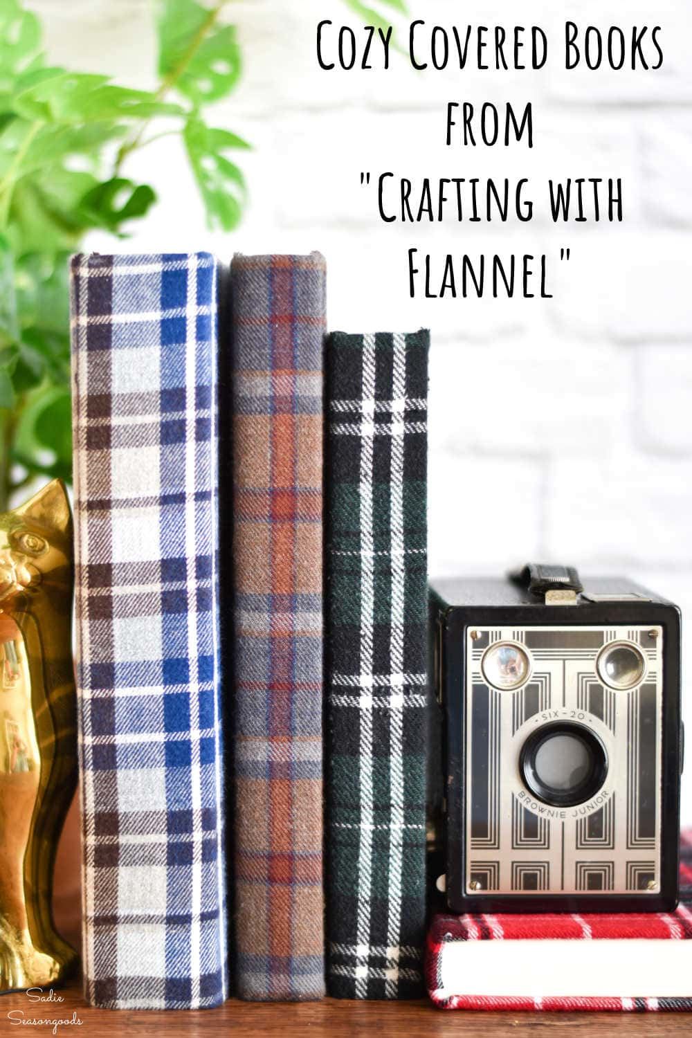 flannel covered books