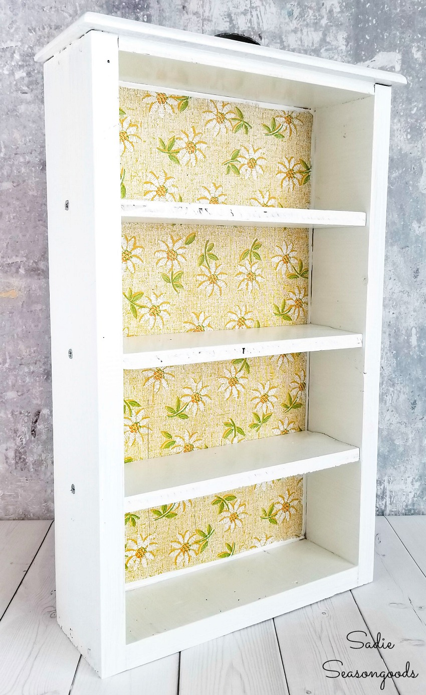 DIY craft storage for paint in a wooden drawer