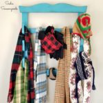 How to Make a Wall Mounted Coat Rack from an Upcycled Wall Gun Rack