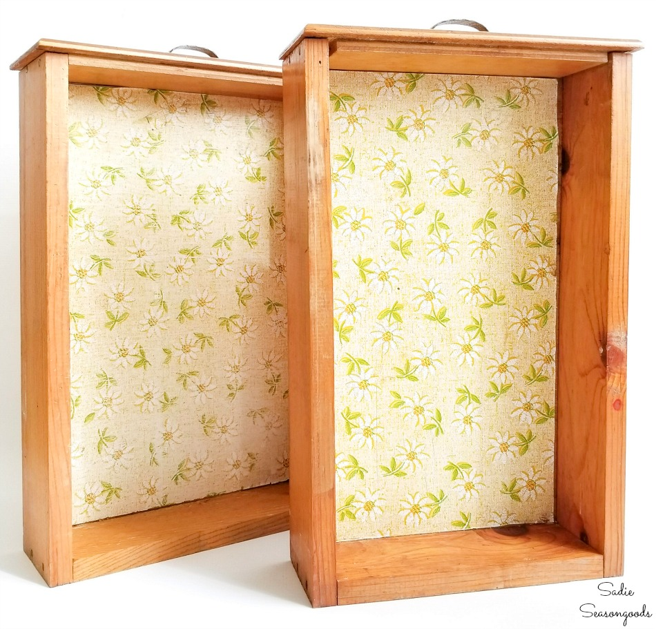 Upcycling idea for old kitchen drawers