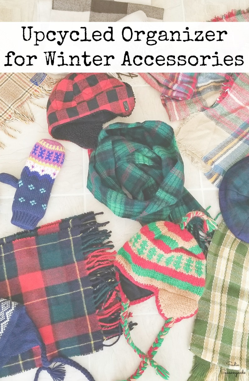 How to organize your winter accessories with a DIY hall tree