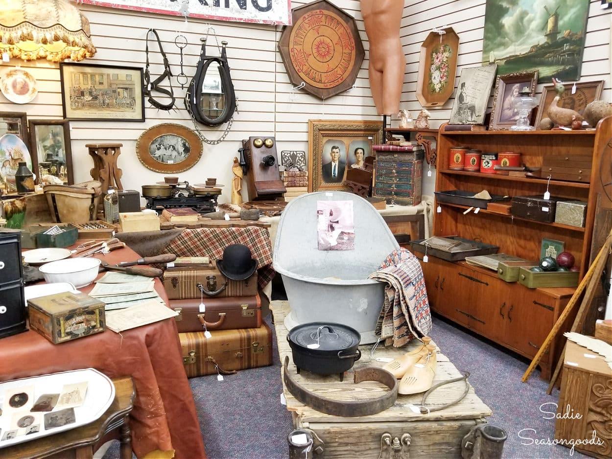 antique stores cleveland tn