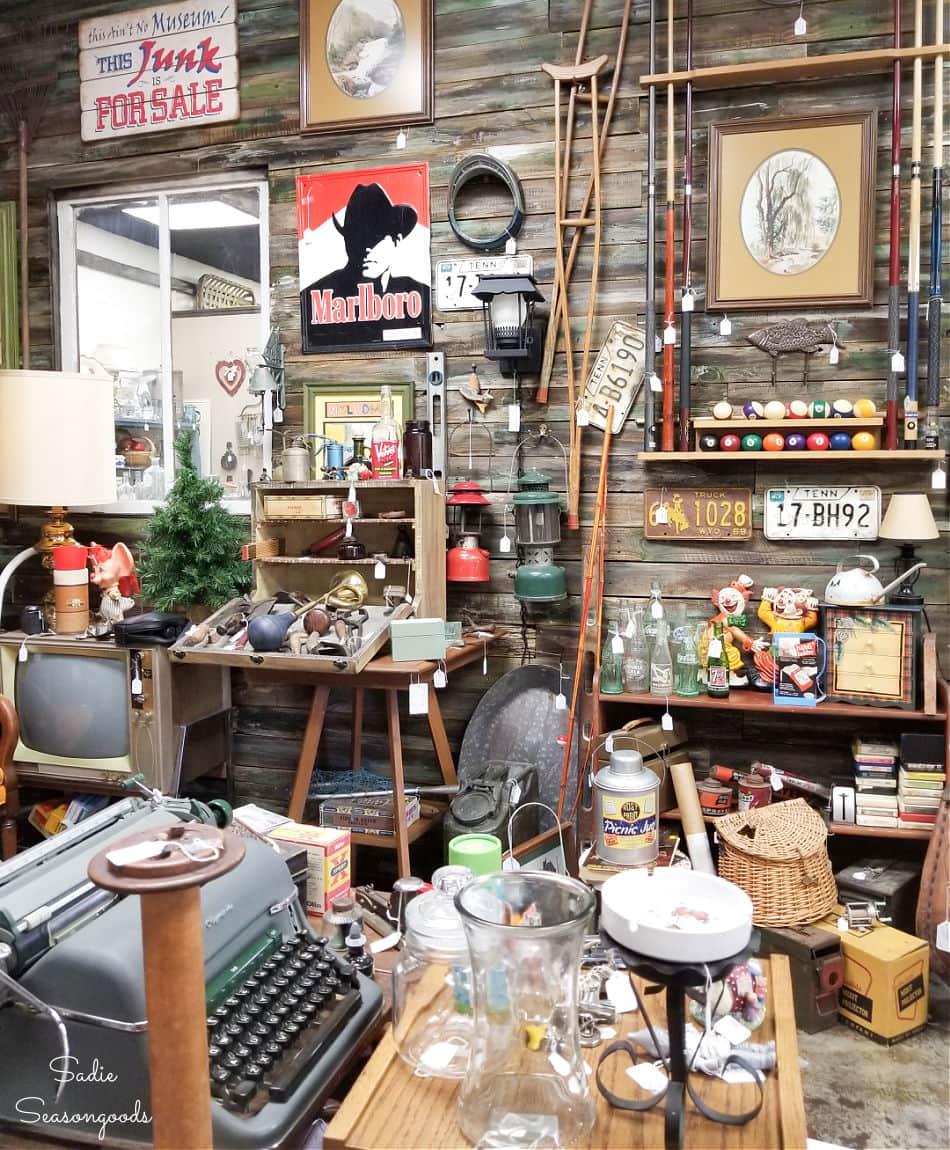 antique stores near lake ocoee