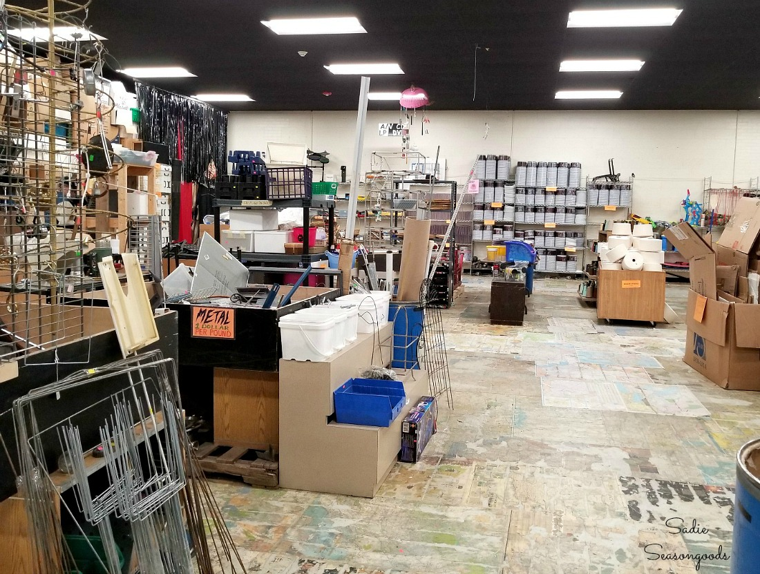 Durham thrift store for craft supplies or craft store at The Scrap Exchange in Durham NC by Sadie Seasongoods