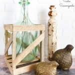 Demijohn Bottle or Demijohn Vase from Empty Glass Bottles for French Country Decor