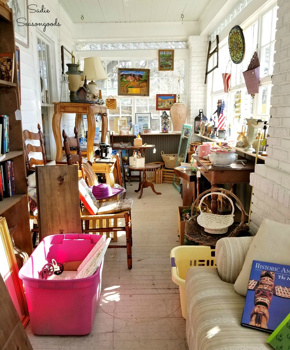 Shopping for antiques Durham NC or antique stores Durham NC at Everything But Grannie's Panties by Sadie Seasongoods