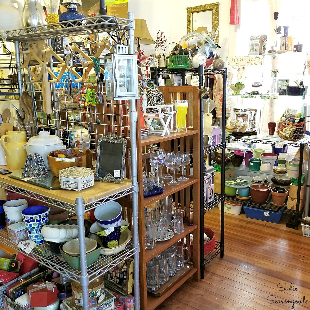 Thrift Stores Durham NC and antique stores Durham NC should include Recyclique for Upcycling by Sadie Seasongoods