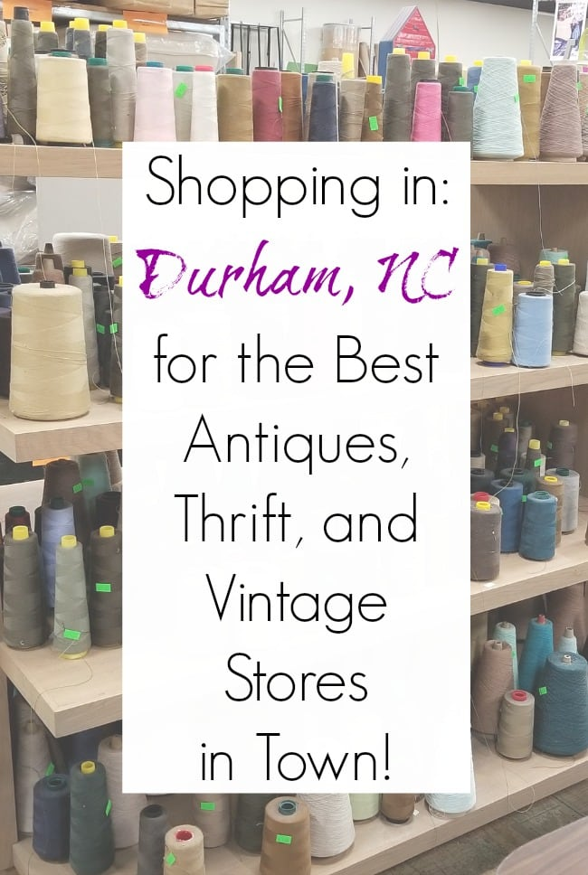 Thrift stores Durham NC and Durham antique stores