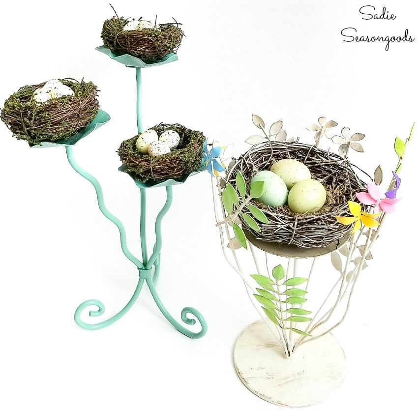 bird nest decor for Spring