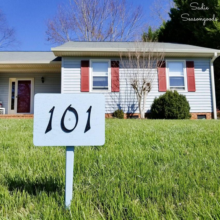 DIY yard sign