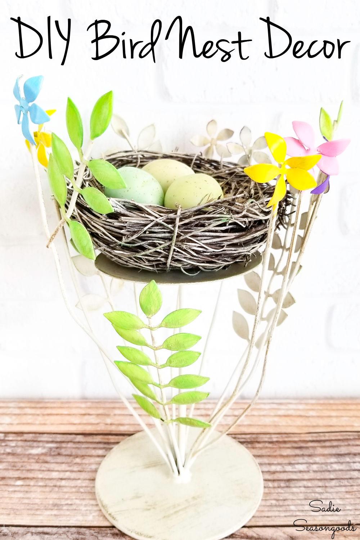 nest decor for Spring