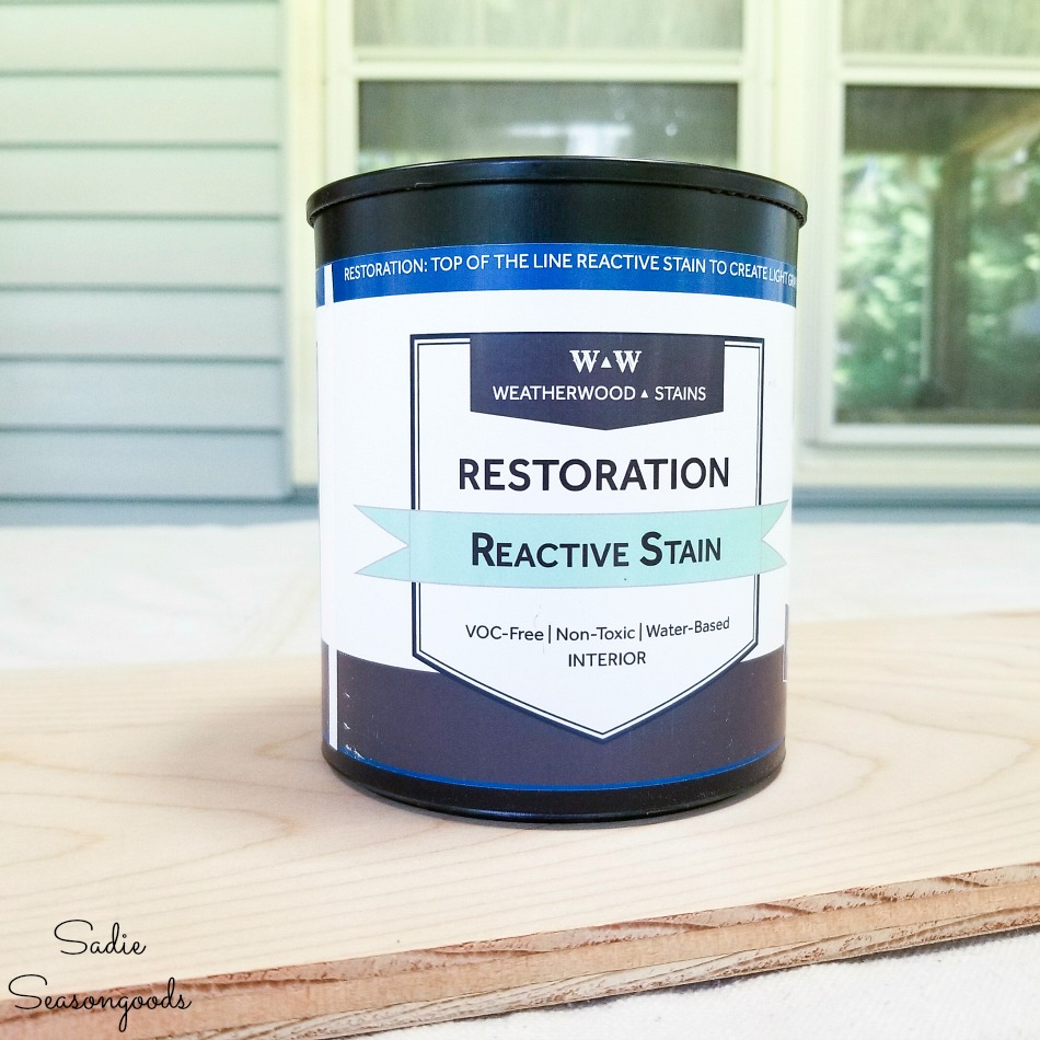 Weatherwood Stains in Restoration to be used on the coastal wall decor