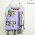 Jewelry Hanger / Hanging Jewelry Organizer from a Memo Board