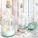 Repurpose Wine Bottles as Message in a Bottle