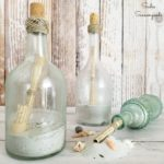 Wine Bottle Crafts: Message in a Bottle for Ocean Decor
