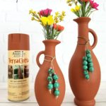 Painting Glass / Spray Paint for Glass that Looks Like Terracotta