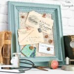 DIY Cork Board or Framed Cork Board with a Picture Frame