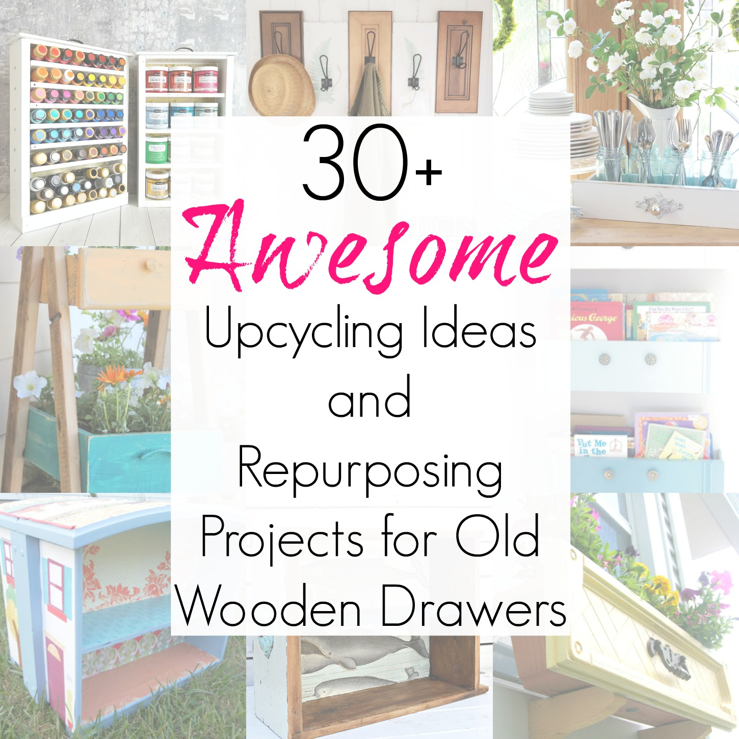 Upcycling Ideas And Repurposed Projects