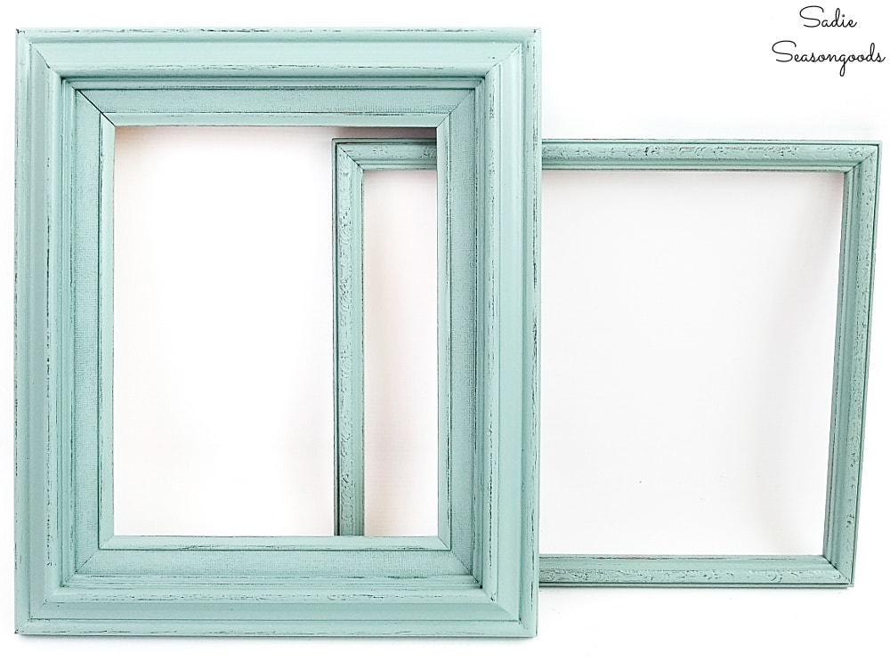 Painting picture frames for cute cork boards