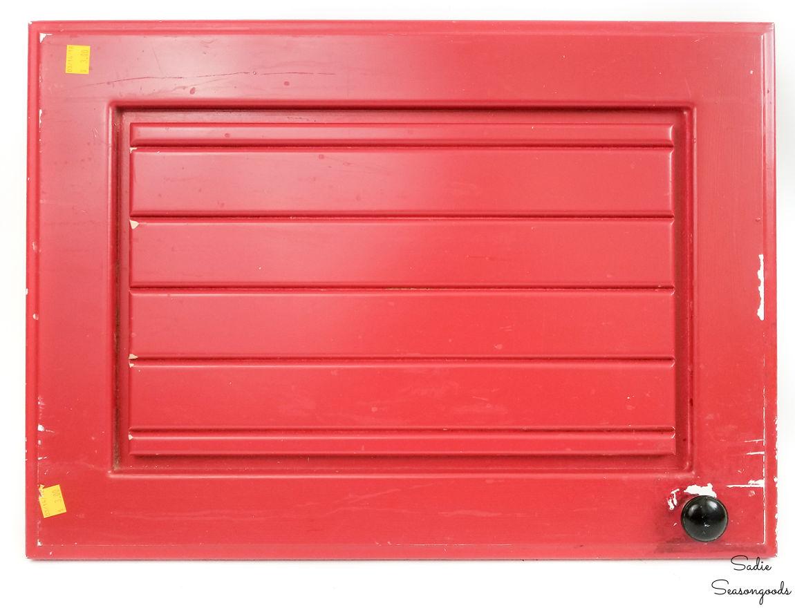 repurposing a cabinet door