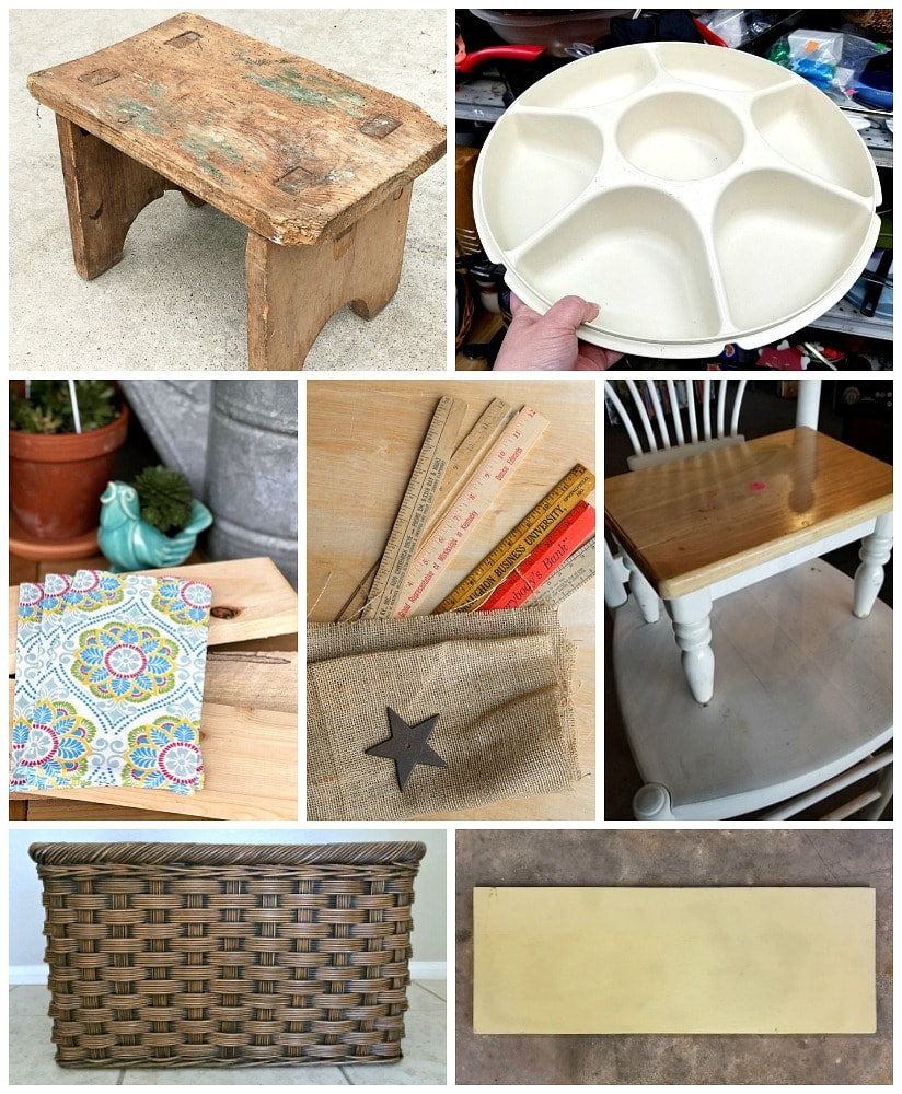 upcycling ideas from thrift store bloggers