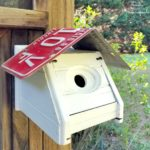 Making a Chickadee Bird House or Wren House from a Tissue Box Cover