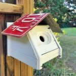 Upcycling a Kleenex Box Cover as a Wren Bird House