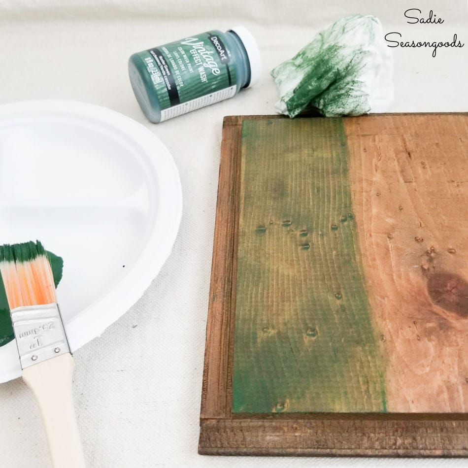 decorating a first aid cabinet