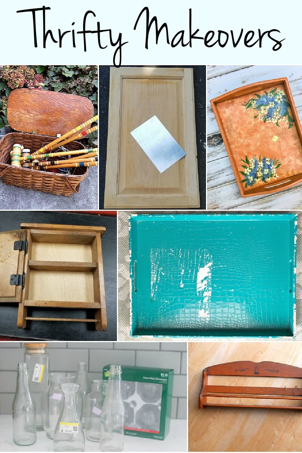 thrift store upcycle inspiration