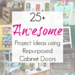 25+ Upcycling Ideas for Cabinet Doors / Cupboard Doors