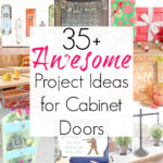 Upcycling Projects that Repurpose Cabinet Doors