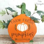 Pumpkin Sign / Pumpkin Patch Sign and Primitive Country Decor for Fall