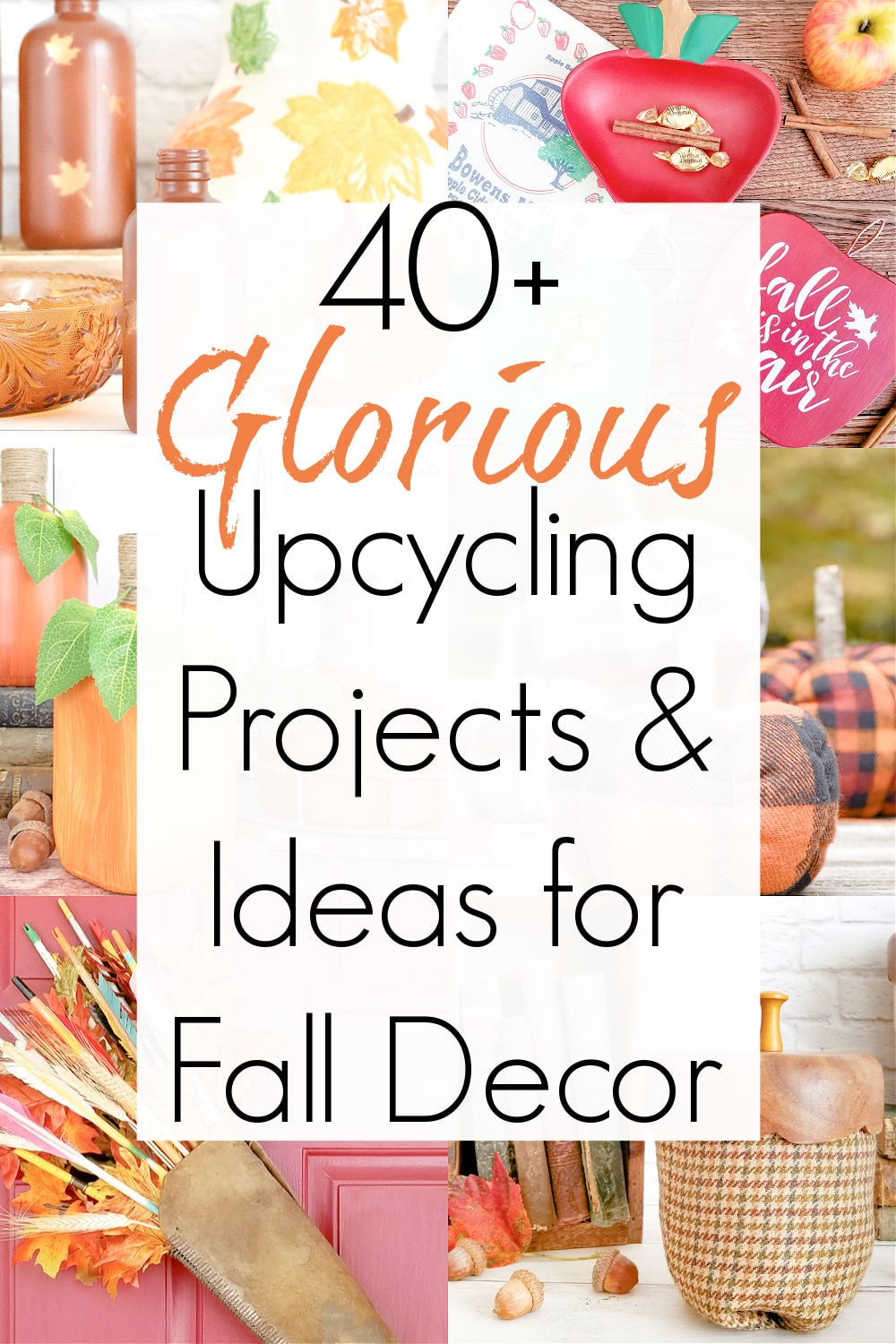 upcycling projects for autumn decorations