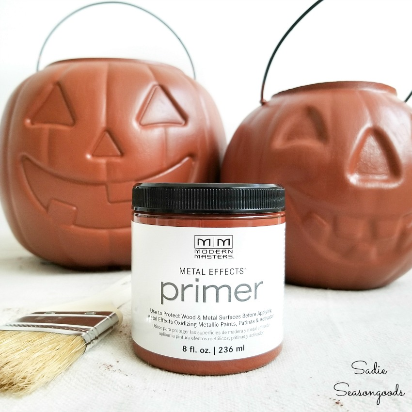 Primer for the rust look paint