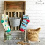 Laundry Room Decor with a Vintage Washboard