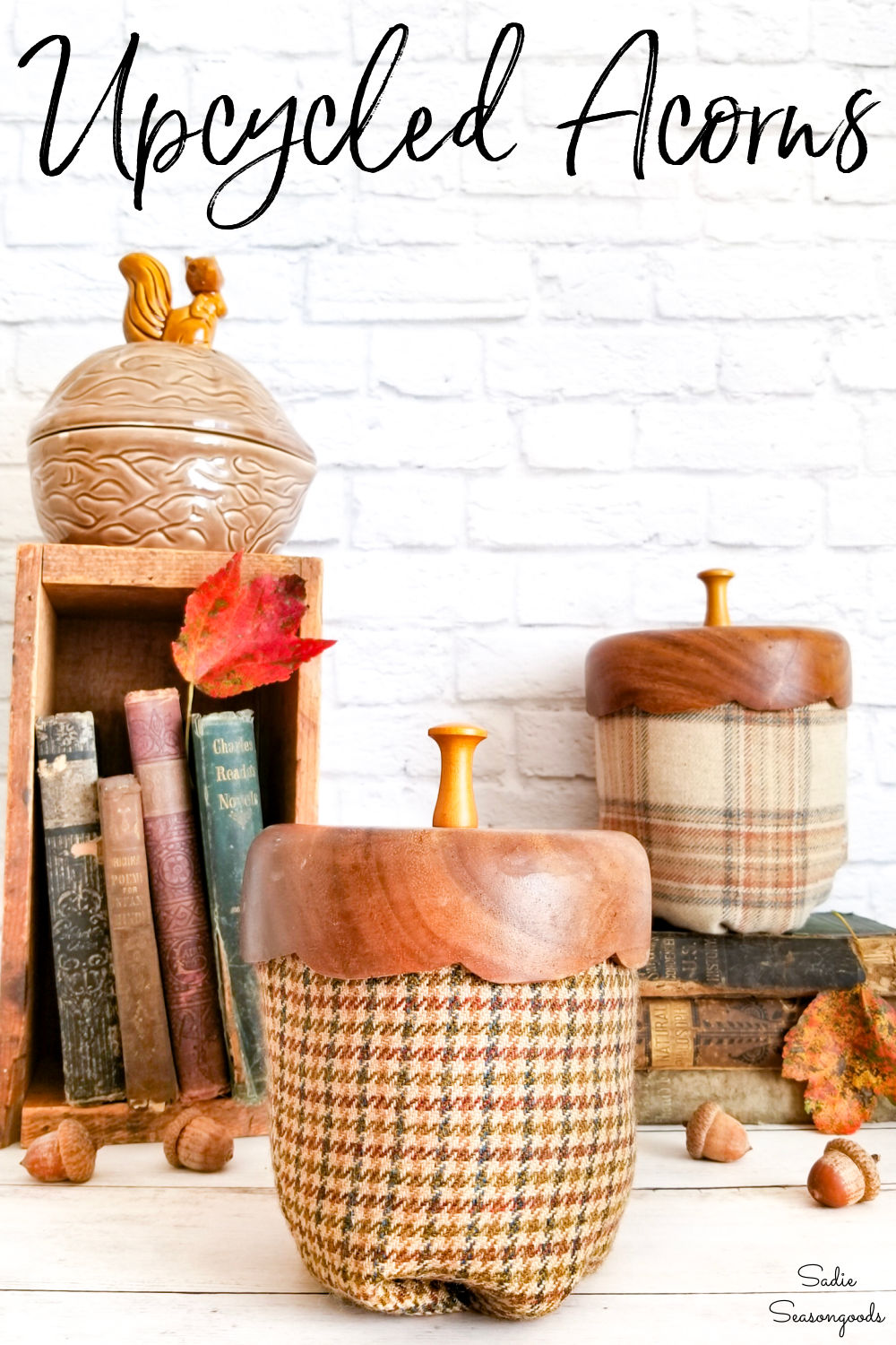 acorn decorations for fall home decor